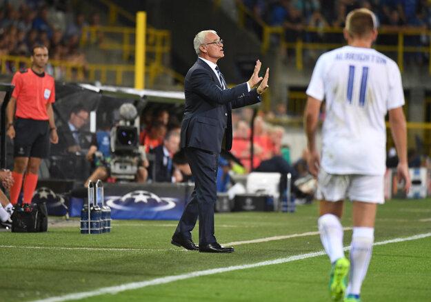 Ranieri zažil úspešnú premiéru Leicesteru v Lige majstrov.