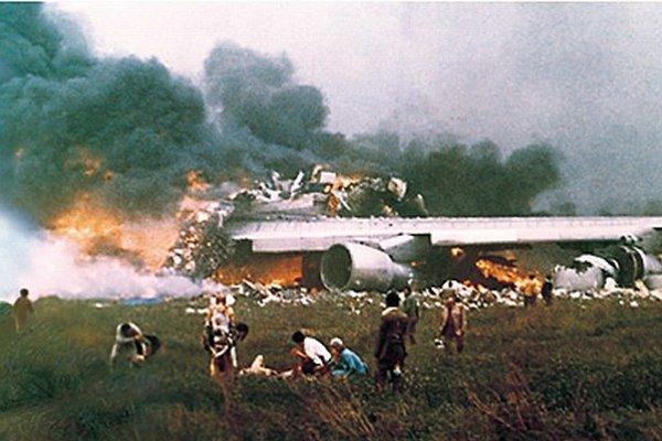 Zrážka lietadiel na Tenerife v roku 1977.