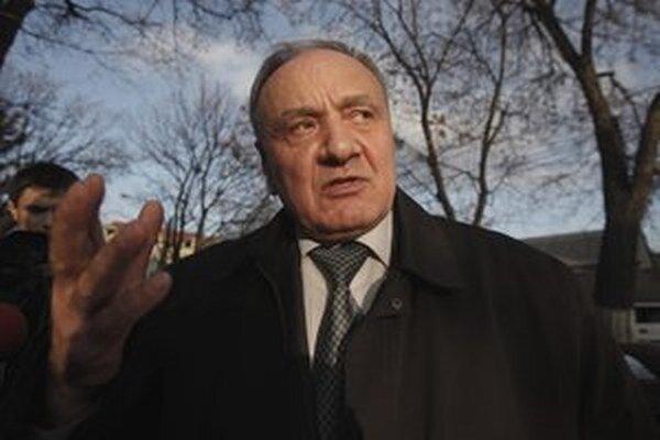 Moldavský prezident Nicolae Timofti.