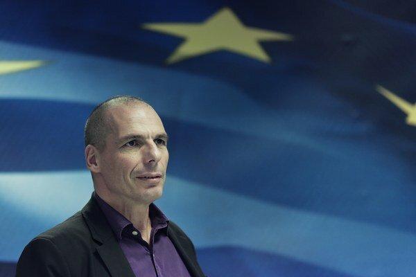 Grécky minister financií Jánis Varoufákis.