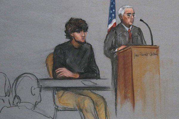 V Bostone sa začal proces s obvineným atentátnikom z bostonského maratónu Džocharom Carnajevom.