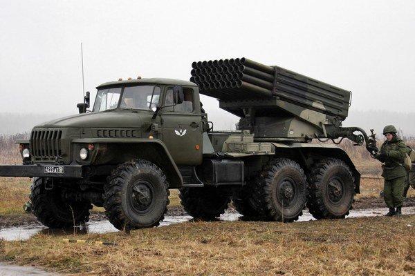 Raketový systém GRAD.