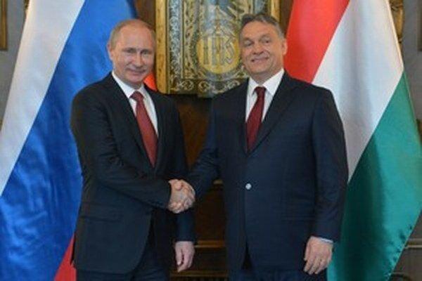 Putin a Orbán  namiesto Ukrajiny riešili najmä plyn.