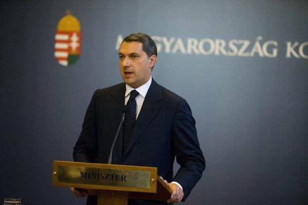 Minister riadiaci úrad maďarskej vlády János Lázár.