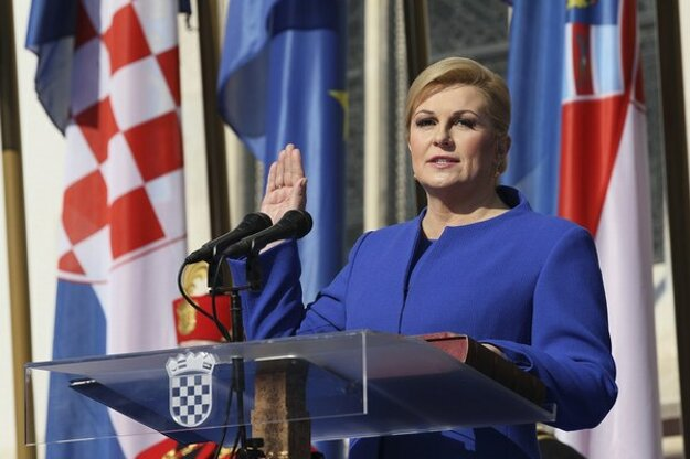 Kolinda Grabarová-Kitarovičová sa oficiálne stala prezidentkou Chorvátska.