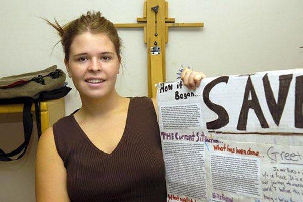 Snímka Kayly Muellerovej z roku 2013.