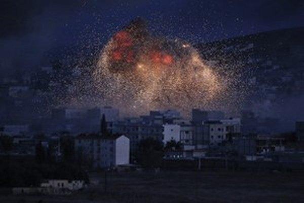 Nálety na Kobani boli úspešné, islamistov vyhnali.