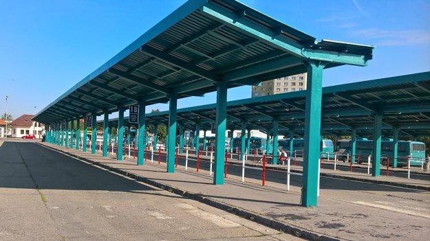 Úpravami prechádza aj levická autobusová stanica.