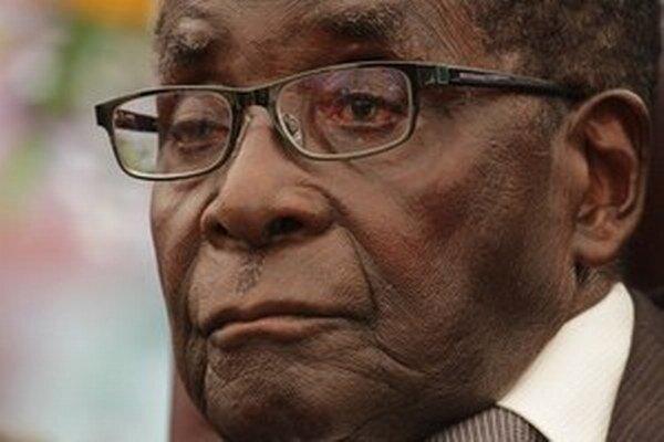 Zimbabwiansky prezident Robert Mugabe.