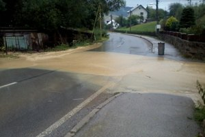 Odvodnenie diaľnice D3, jeho technické riešenie je nedostatočné. Tvrdí to aj starostka Skalitého Andrea Šimurdová.