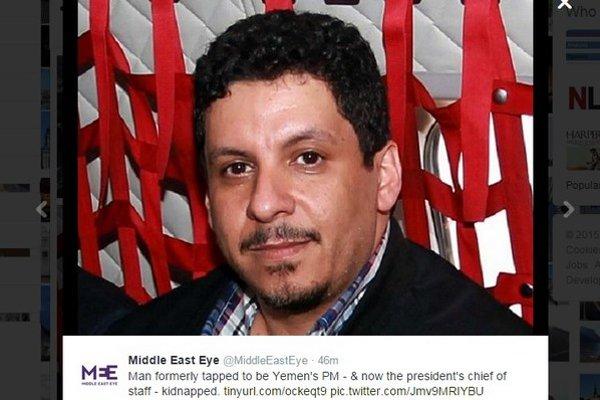 Śéf prezidentskej kancelárie Ahmed bin Mubarak.
