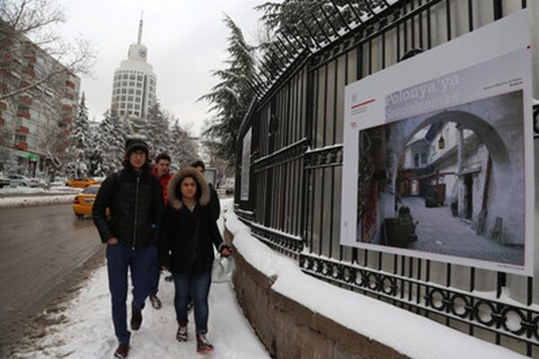 Sneh v utorok v Turecku.