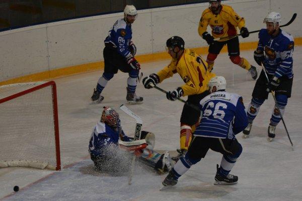 Šimun otvoril skóre zápasu Topoľčany - Detva, tri body ale brali hostia.