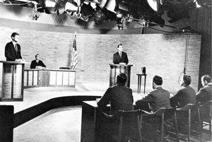 Pamätná debata medzi Nixonom a Kennedym.