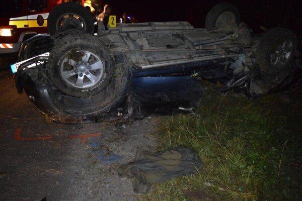 Pri tejto nehode zomrel 22-ročný Juraj z okresu Čadca.