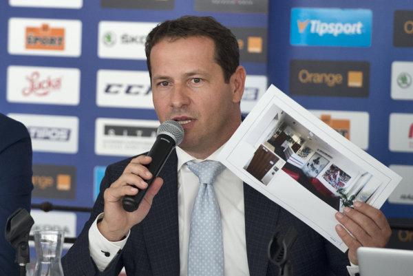 Martin Kohút je prezidentom Slovenského zväzu ľadového hokeja už sto dní.