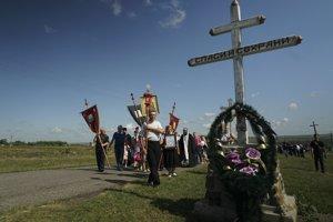Na tragédiu spred roka spomínali obyvatelia obce Hrabove.