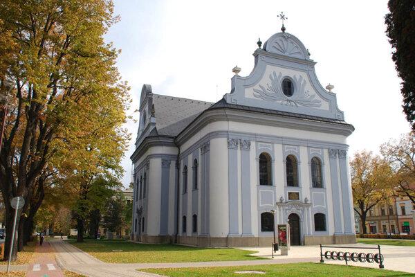 Evanjelický kostol v Spišskej Novej Vsi. Zaznie tu otvárací koncert festivalu.