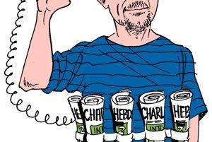 Karikatúra zobrazuje Stéphana Charbonniera, jednu z obetí včerajšieho útoku.