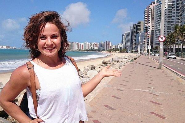 Dorota Balciarová v Brazílii.