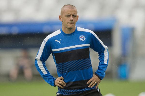 Vladimír Weiss mladší vypadol z národného tímu.