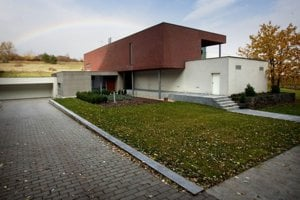 Dom Ernesta Valka v Limbachu. Páchateľa vraždy polícia stále neodhalila.
