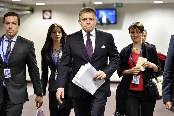 O kvótach sa podľa Fica nehovorilo ani na chodbách budovy Európskej rady.