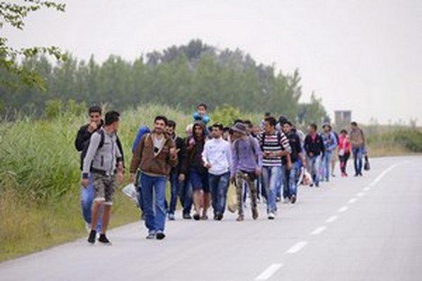 Nie každý utečenec cez Slovensko iba prechádza.