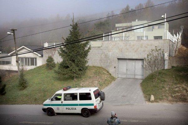 V ponuke je aj vila šéfa skupiny Juraja Ondrejčáka.