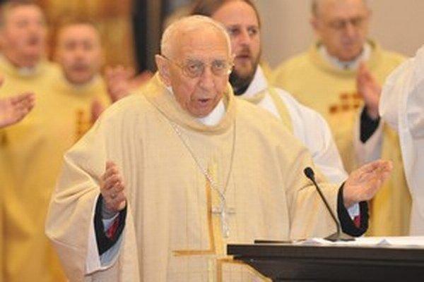 Bývalý bratislavsko-trnavský pomocný biskup zomrel v sobotu 16. mája vo veku 89 rokov.