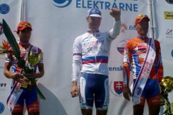 Cyklistické preteky vyhral Rus Nikita Novikov.