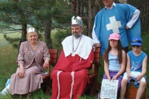 Deti sa počas podujatia stretli aj s kráľovskou rodinou.