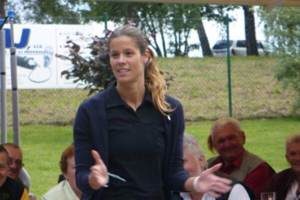Barbora Fabianová sa prvýkrát zúčastnila na dobročinnej akcii.