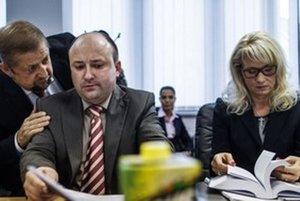 Štefan Harabin a Ľuboš Sádovský ešte ako predseda a člen Súdnej rady.
