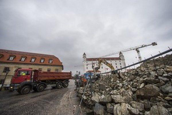 Výskum odhalil dvetisíc rokov staré nálezy, v strednej Európe unikátne. Ocenili ich aj rakúski odborníci. Podzemné garáže, ktoré by ich zakryli, majú stáť asi 10 miliónov eur bez DPH.