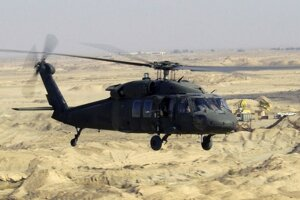 Sikorsky Black Hawk.