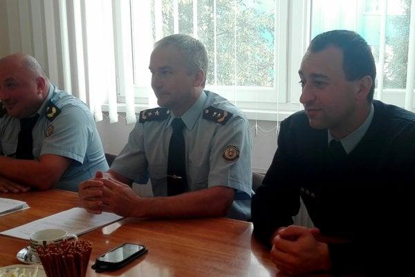 Na tlačovej besede odznelo veľa zaujímavých informácií. Zľava: Roman Jakubík, Stanislav Zdařil aPeter Zjavka.