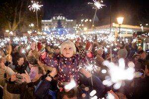 Vianočné trhy v Bratislave už začali.