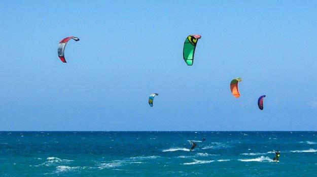 El Gouna je ideálna lokalita pre kitesufring a vodné športy.