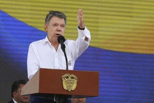 Kolumbijský prezident Juan Manuel Santos.