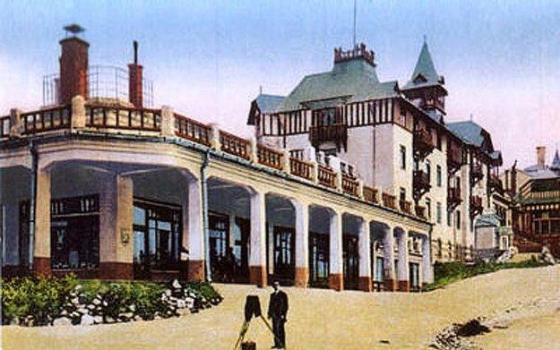 Hotely v Tatrách boli obľúbeným miestom oddychu