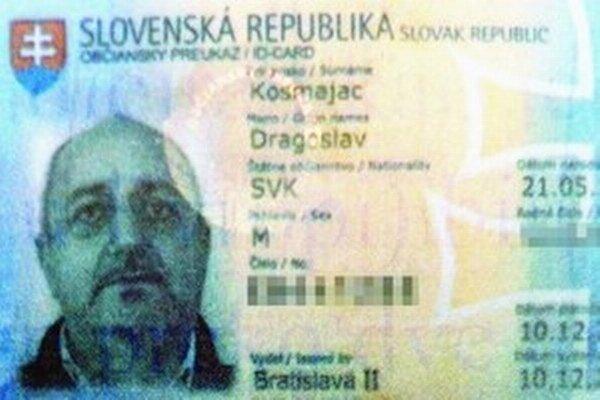 Srb so slovenským občianstvom.