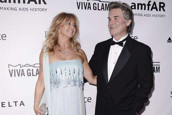 Hollywoodska rarita. Goldie Hawn a Kurt Russell sú spolu 33 rokov.