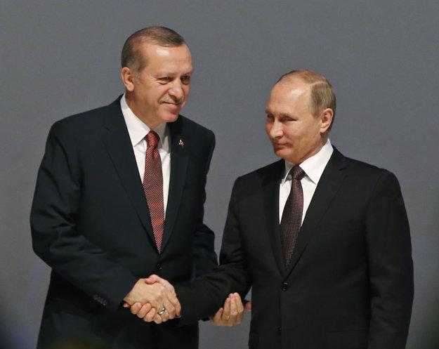 Erdogan s Putinom. Zbližovanie pokračuje.
