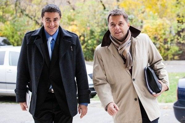 Radko Kuruc (vľavo).