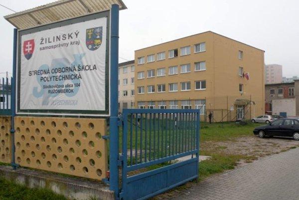 Stredná odborná škola polytechnická v Ružomberku.