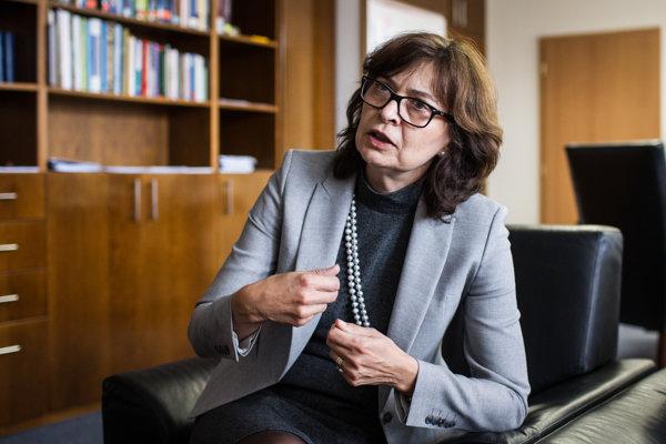 Ministerka spravodlivosti SR Lucia Žitňanská.