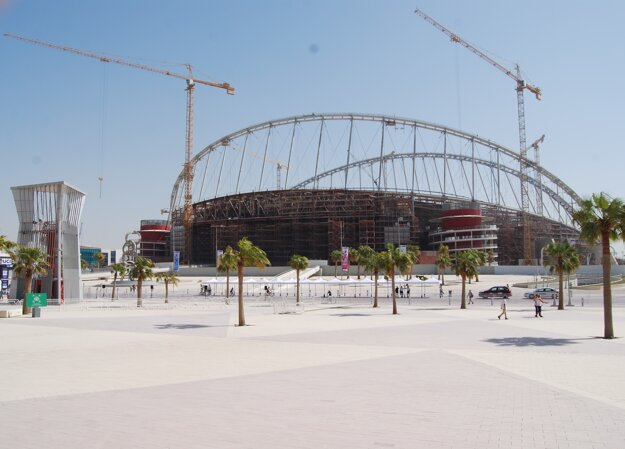 Khalifa Stadium.