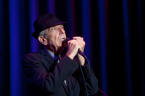 Leonard Cohen pred niekoľkými rokmi spieval v Bratislave.