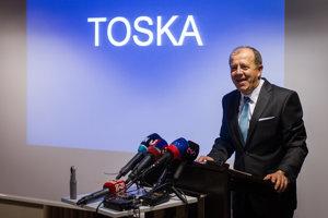 Richard Rybníček pri oznámení vzniku strany TOSKA.